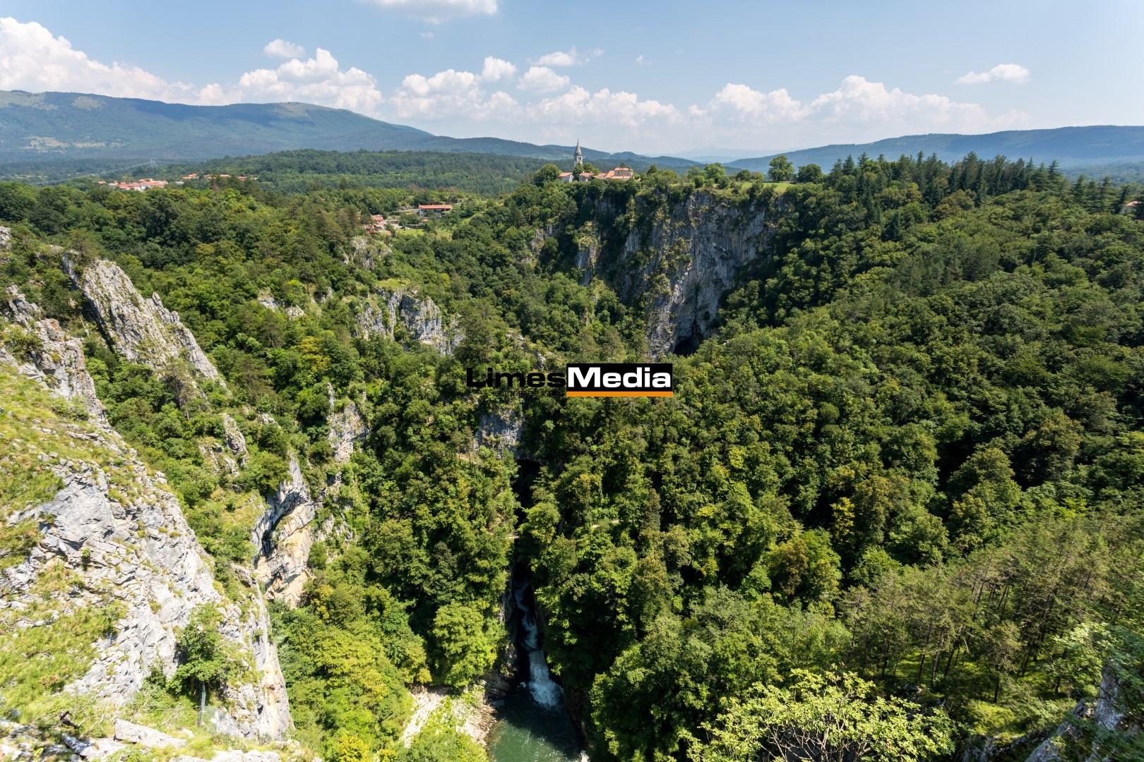 Skocjan Caves, Bezuljak, Cerknica, Slowenien